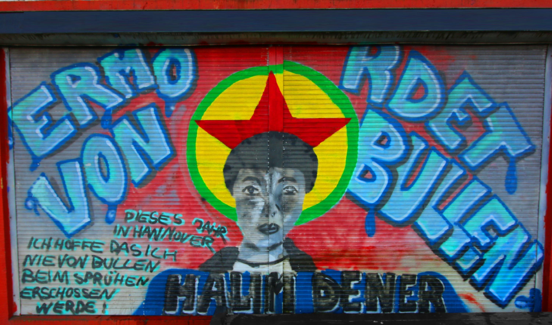 Halim-Dener-Graffiti AJZ Bielefeld