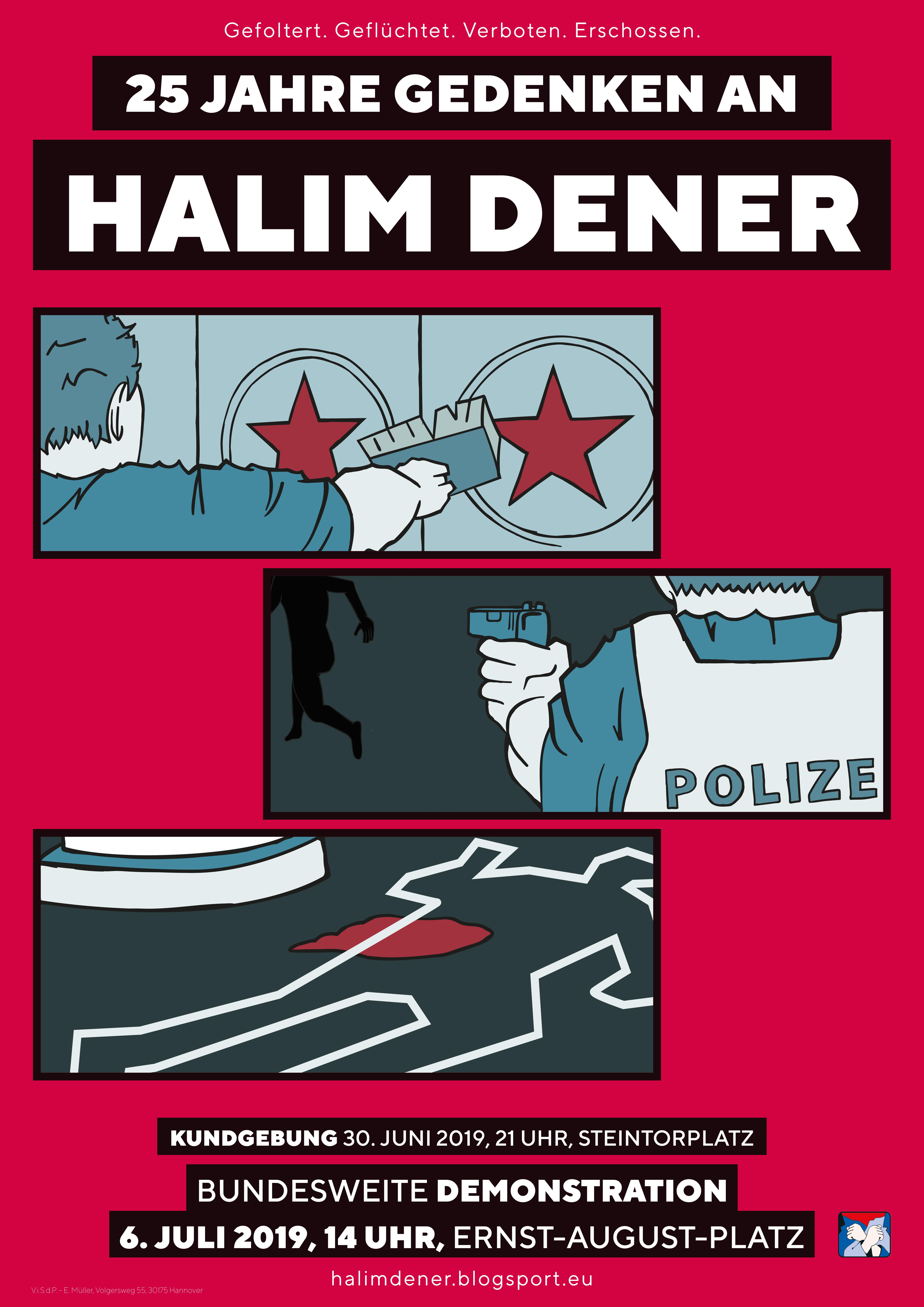 Halim Dener Plakat 2019